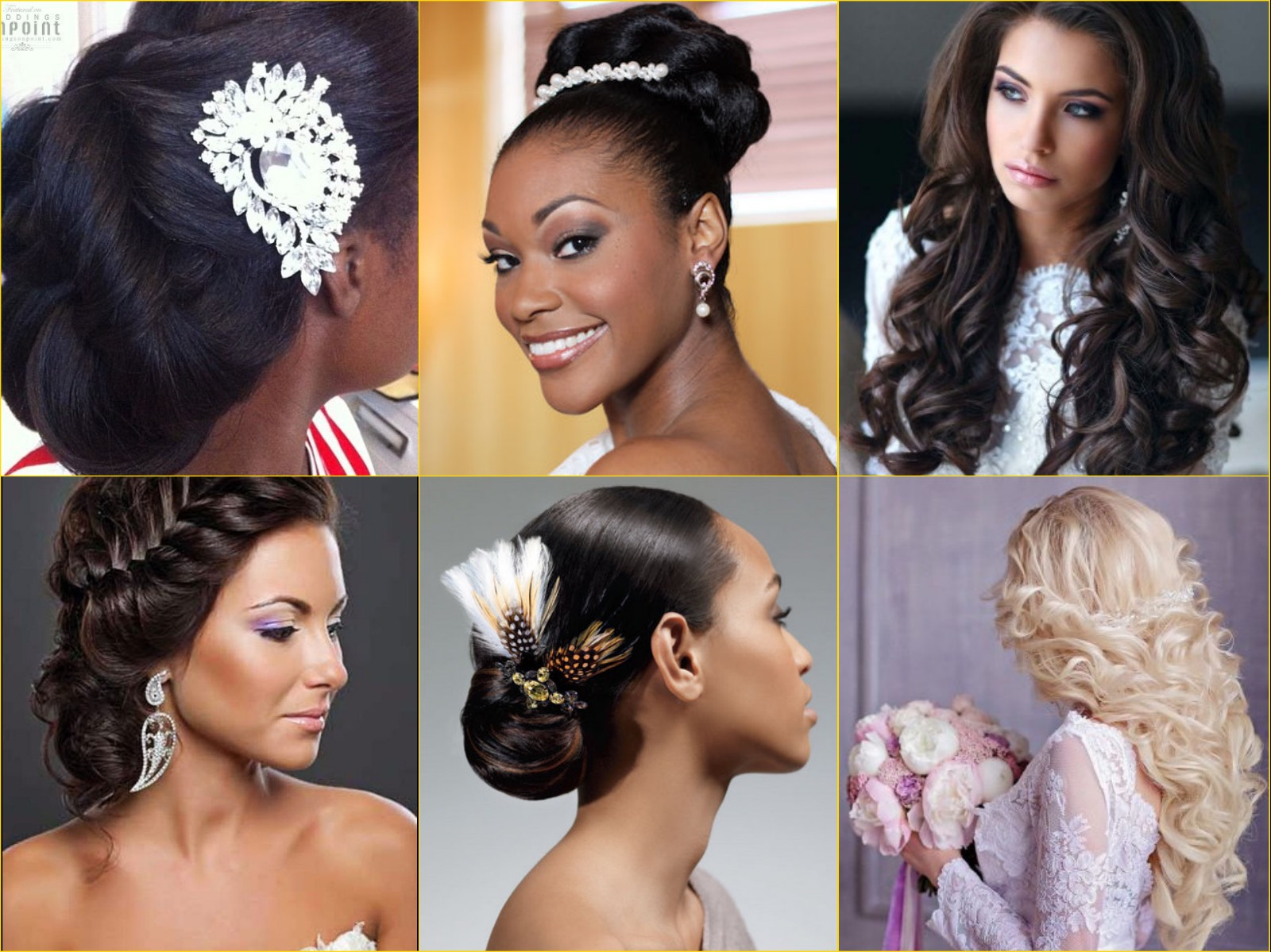 Online Hair Style: The 4 Most Desired Hairstyles By Bold Brides (PHOTOS