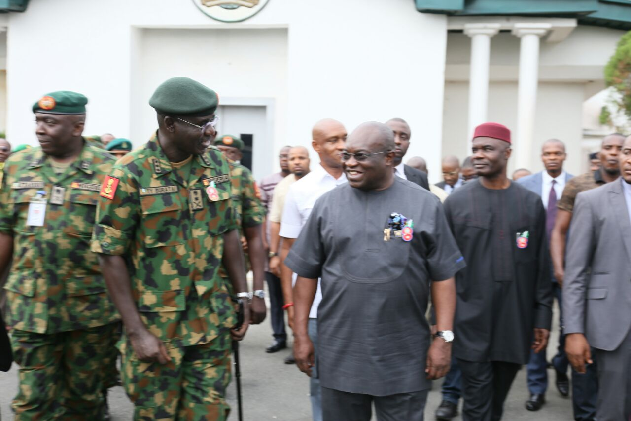 Image result for Army chief Buratai visits Aba