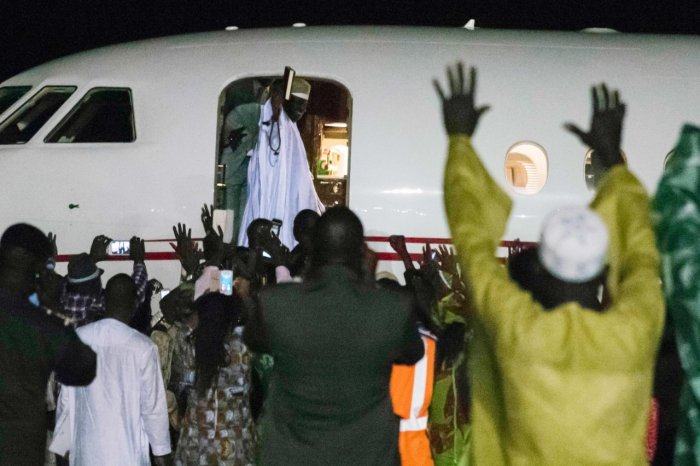 Yahya Jammeh Leaves The Gambia The Trent3