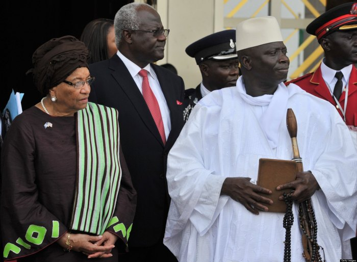 Yahya Jammeh The Gambia Ellen Johnson Sirleaf