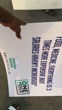 Lagos #IStandwithNigeria protest