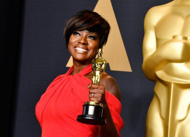 Viola Davis Oscar Oscars 2017
