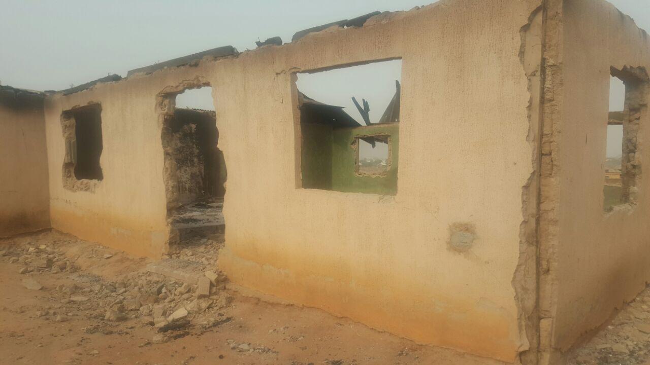 The Redeemed Christian Church of God RCCG Church in DieDie Abuja burnt down by Muslim fundamentalists