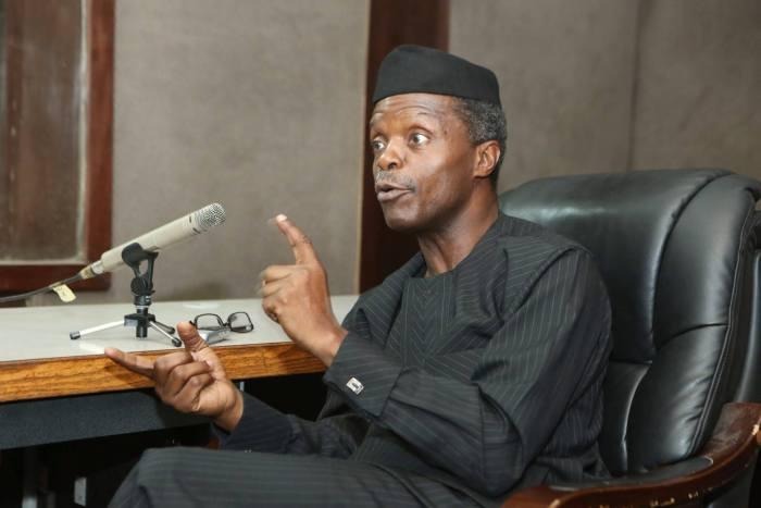 Osinbajo, VP, Nigeria, Resign