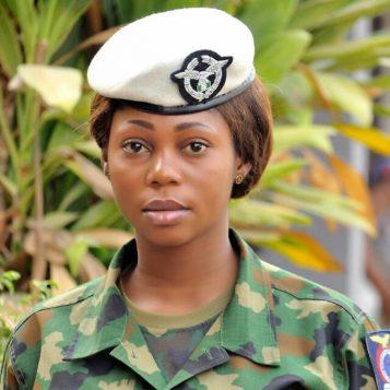 The late Air Force Woman Solape Oladipupo