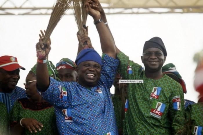 APC Akinwunmi Ambode Babatunde Fashola APC Lagos The Trent