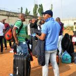 nigerians libya nigerian File: Germany Nigerians deported speaking with journalists