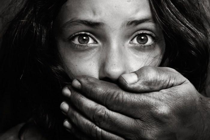human trafficking sex slave