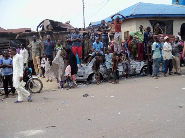 Abdulrahman Dambazau, Ile-Ife Crisis, A community affected in the ethnic clashes in Ile-Ife, Osun State in March, 2017   NAN