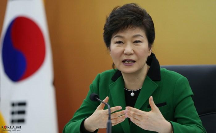 President Park Geun-hye South Korea