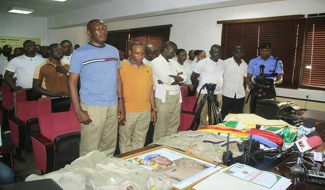 Peace Corp of Nigeria Police Dickson Akor