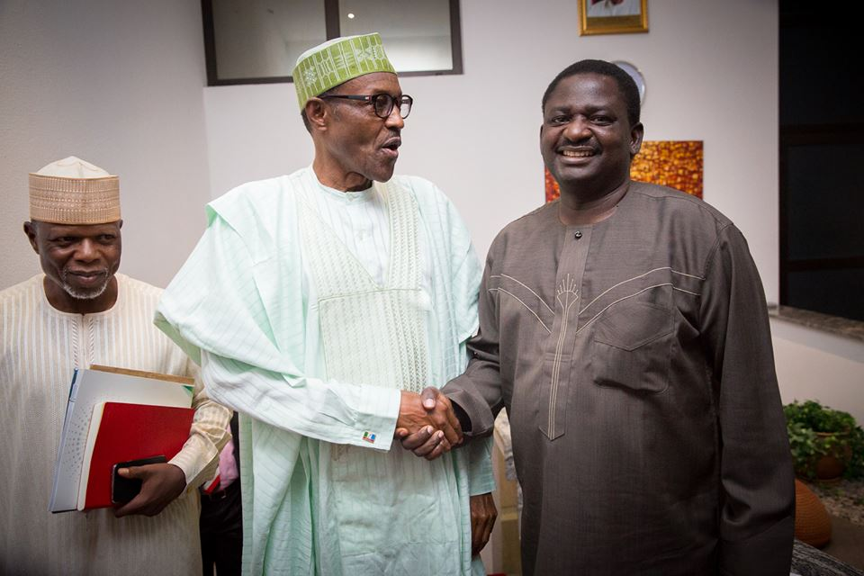 Image result for Buhari to return from his 10-day vacation this weekend- Femi Adesina