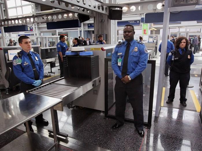 Nigerians Airport Security