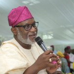 bitumen APC Governor Rotimi Akeredolu of Ondo State monarch