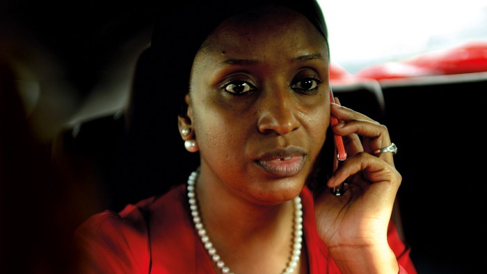 Hadiza Bala Usman, the MD of the Nigerian Ports Authority