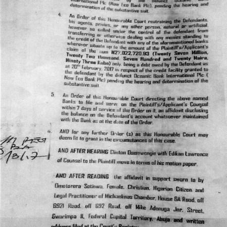 Nsima Ekere Court Document The Trent