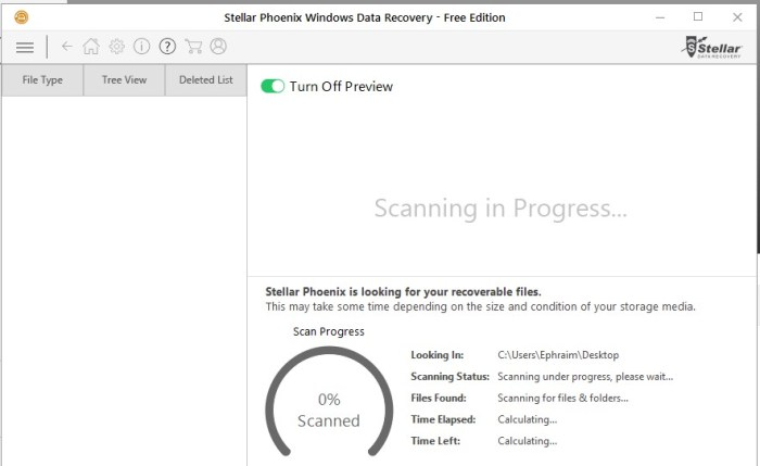 Stellar Phoenix Windows Data Recovery, Recovery Software, undelete software, Tool