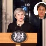 UK Prime Minister Theresa May (Insert: Alexia Thomas)