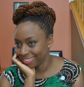 Nigerian writer Chimamanda Adichie