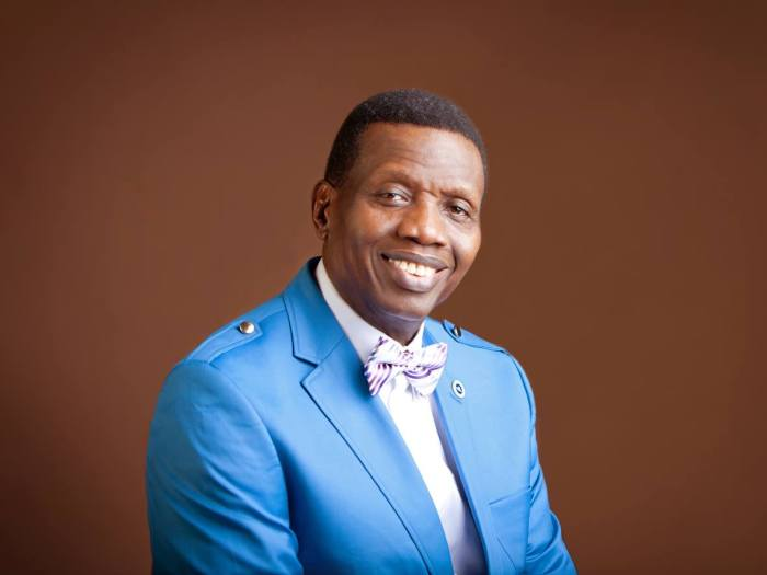 Adeboye, Election, Nigeria