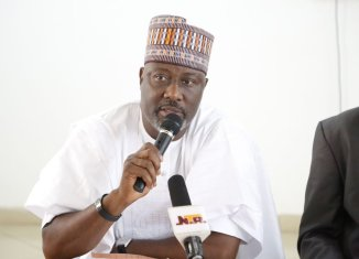 Dino Melaye, APC, Accusations, Building