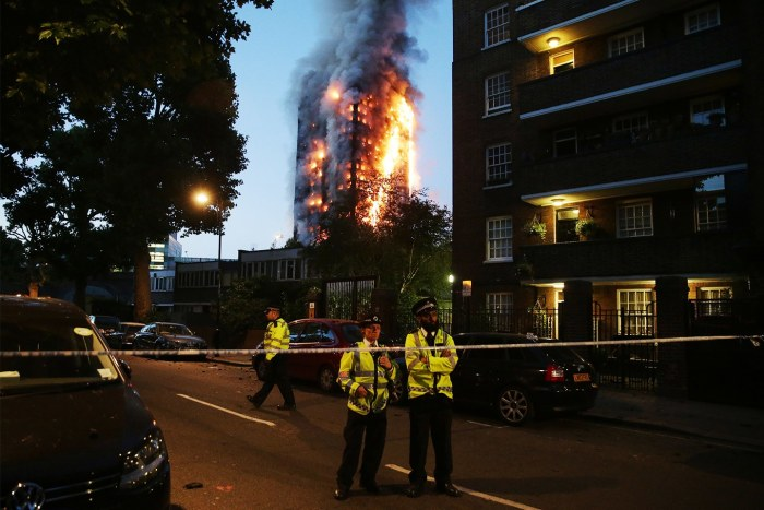 Grenfell Tower Fire London