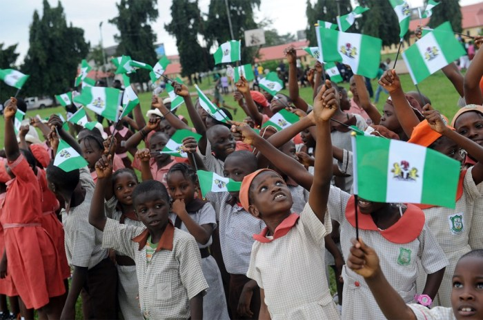 Nigeria Flag Independence Day