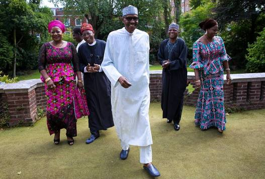 Nigerian government releases new photos of President Buhari