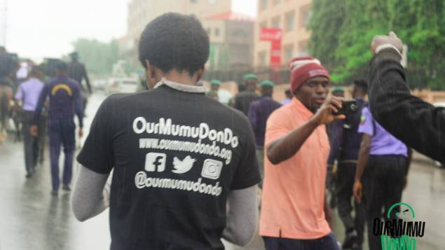 charly boy resume or resign protest