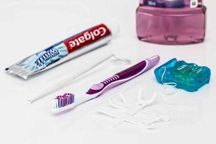 brushing teeth dental habits