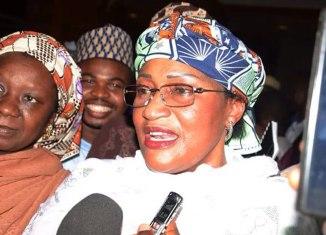 Aisha Alhassan, President Buhari, Adams Oshiomhole, Taraba, APC