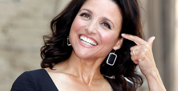 breast cancer Julia Louis-Dreyfus | Getty Images