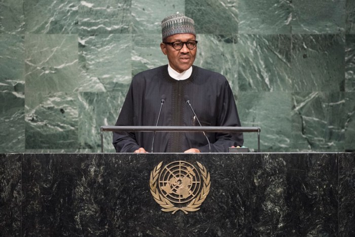 Buhari UN General Assembly