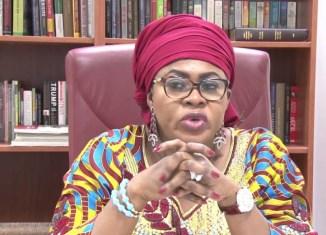 Former Nigerian Aviation Minister, Senator Stella Oduah