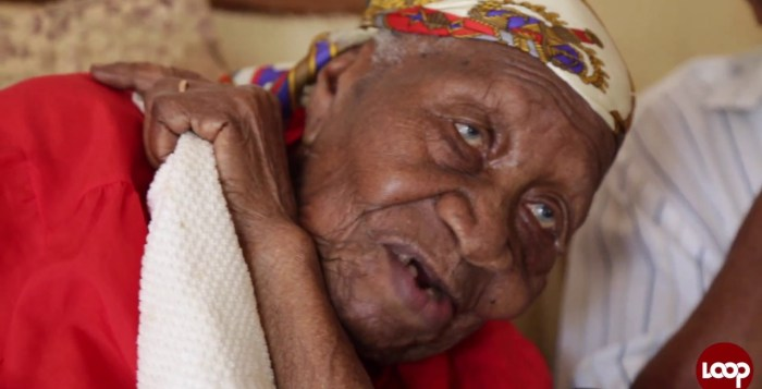 Madam Violet Brown, worlds's oldest woman passes at 117 years