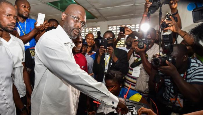 Presidential George Weah Liberia