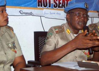 The National Commandant, Nigerian Peace Corps (NPC), Dr Dickson Akoh
