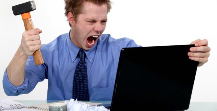 angry man laptop toxic
