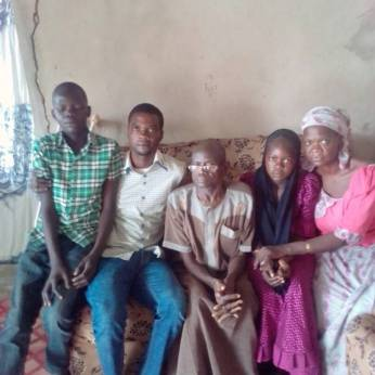 Hauwa Dadi, a 13-year old girl in Yobe State abducted from her home, returned to her family | Photo courtesy Stefanos Foundation