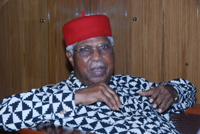 Ekwueme Family, Kinsmen Pay 'Thank You' Visit To Buhari Over Burial Of Former VP