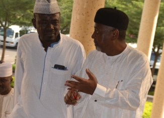 Yushau Shuaib with Sambo Dasuki in Court recently_FotorYushau Shuaib with Sambo Dasuki in Court recently_Fotor