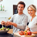 tinder couple love cooking kitchen