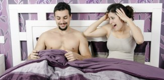 male work penis consider women couple bed naked man