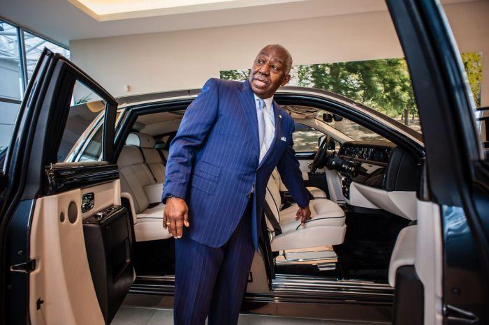 luxury rich man
