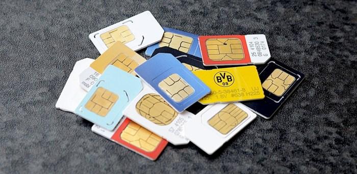 Comp128v1 sim card