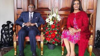 Robert Mugabe, Grace Mugabe , Cry, PH.D, University, Pension