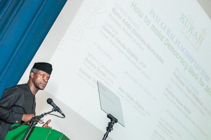 Yemi Osinbajo, Muhammadu Buhari, Failed Nigerians