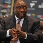 Cyril Ramaphosa, South Africa, Protest