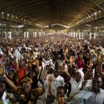 A cross section of worshippers at the Redeemed Christian Church of God, RCCG, at the church's headquarters in Ogun State