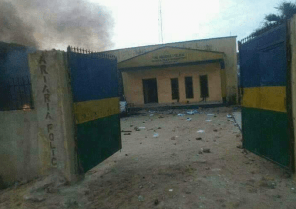 Suspected Cultists Burns Down Police Station In Bayelsa